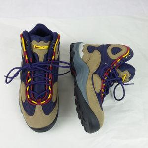 Nike ACG Hiking Boots Vintage Tan Purple Men's 8